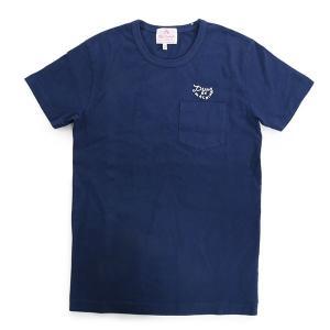 Deus Ex Machina デウスエクスマキナ DMW61800 Halfie Wei Tee クルーネック 半袖 Tシャツ カットソー ポケT ロゴ刺繍 カラーNAVY/ネイビー 7560|s-musee