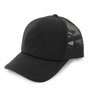 Deus Ex Machina デウスエクスマキナ DMP77538 Pill Trucker ロゴ刺繍 メッシュキャップ 帽子 カラーBLACK/ブラック メンズ|s-musee