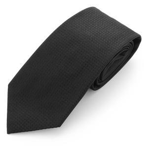 ARMANI COLLEZIONI アルマーニ コレツォーニ 350082 7A301 00020 イタリア製 シルク ネクタイ カラーBLACK/ブラック メンズ|s-musee