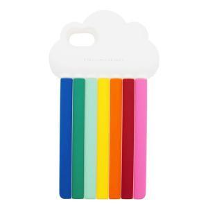 STELLA McCARTNEY ステラマッカートニー RAINBOW 478621 W9941 iPhone7 専用ケース スマホケース 虹 レインボー 携帯 カラー8517|s-musee