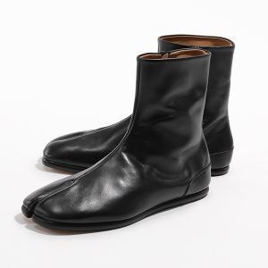 MAISON MARGIELA メゾンマルジェラ 22 S57WU0134 PR516 レザー タビブーツ 足袋ブーツ ショートブーツ T8013 メンズ s-musee