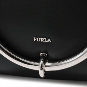 Furla フルラ 963557 BOS0 VWO MARGHERITA S レザー ショルダーバッグ クラッチ ONYX  レディース|s-musee|05