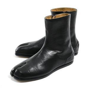 MAISON MARGIELA メゾンマルジェラ 22 S37WU0348 P1988 レザー タビブーツ  足袋ブーツ カラーT8017 メンズ【訳有】 s-musee