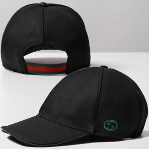 GUCCI グッチ 387554 4H010 1000 GG刺繍 ベースボールキャップ 帽子 ユニセックス|s-musee