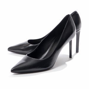 CELINE セリーヌ 327893002C.38NO PUMP 80 レザー ヒールパンプス ポインテッドトゥ ハイヒール ピンヒール Black 靴 レディース|s-musee