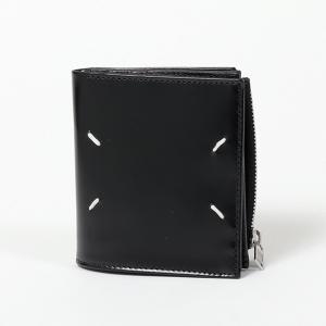 MAISON MARGIELA メゾンマルジェラ S35UI0438 P2714 レザー 二つ折り財布 ミニ財布 豆財布 T8013 メンズ|s-musee