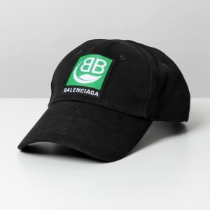 BALENCIAGA バレンシアガ 593188 310B2 1000 ベースボールキャップ 帽子 ...