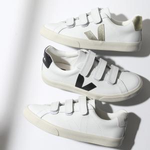 VEJA ヴェジャ 3 LOCK カラー3色 レザー ローカット スニーカー シューズ ベロクロ サステナブルスニーカー 靴 レディース|s-musee