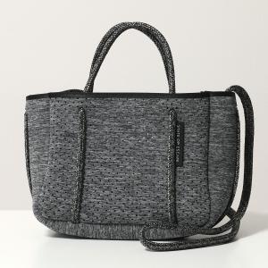 State of Escape ステイトオブエスケープ Micro ネオプレン マイクロ トートバッグ ショルダーバッグ 軽量 キーフック付き Charcoal-Marle-Grey 鞄 レディース|s-musee