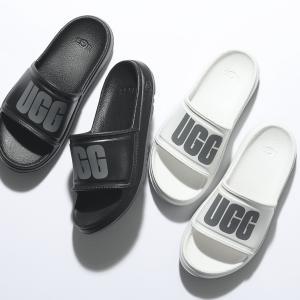 UGG アグ 1113457 W WILCOX SLIDE カラー2色 ウィルコックス スライド スポーツサンダル コンフォート スポサン シャワーサンダル ロゴ 靴 レディース|s-musee