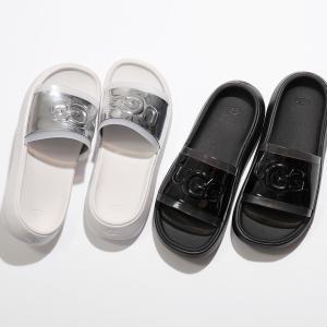 UGG アグ 1109592 HILAMA SLIDE ヒラマ スライド スポーツサンダル スポサン シャワーサンダル コンフォート ロゴ WHITE 靴 レディース|s-musee