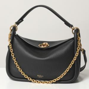 Mulberry マルベリー HH5287 013 S Leighton レイトン レザー ショルダーバッグ ハンドバッグ 鞄 A100/Black レディース|s-musee