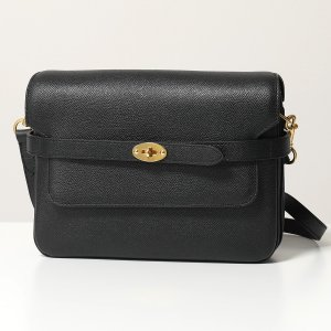 Mulberry マルベリー HH6137 161 Belted Bayswater Satchel レザー ショルダーバッグ ポシェット クラッチバッグ 鞄 A100/Black レディース|s-musee