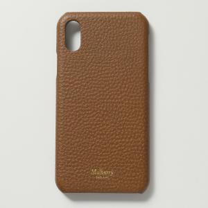 Mulberry マルベリー RL5471 346 iPhone X Cover iPhoneXS専用ケース スマホ レザー カバー G110/Oak レディース|s-musee