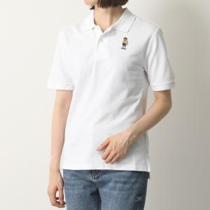 POLO Ralph Lauren ポロ ラルフローレン 323 785952 BASIC MESH 003/WHITE 鹿の子 半袖 ポロシャツ トップス レディース|s-musee