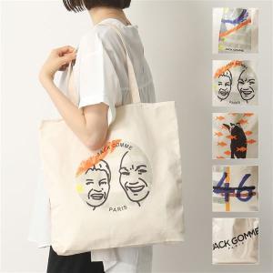 jack gomme ジャックゴム 1785 カラー3色 コットン トートバッグ ショッピングバッグ プリント 鞄 レディース|s-musee