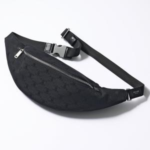 CELINE セリーヌ 191222CEC.38SI New Belt bag トリオンフ ジャガード ボディバッグ ベルトバッグ ウエストポーチ Black 鞄 レディース メンズ|s-musee