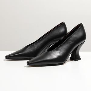 BOTTEGA VENETA ボッテガヴェネタ 608839 VBSD0 SCARPA PELL アーモンド パンプス シューズ 靴 1000/BLACK レディース|s-musee