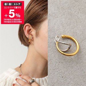 Charlotte Chesnais シャルロットシェネ イヤーカフ レディース 19BO082VEAR VERMEIL&ARGENT Needle Ear Cuff 18Kゴールドメッキ シルバー925 片耳販売|s-musee