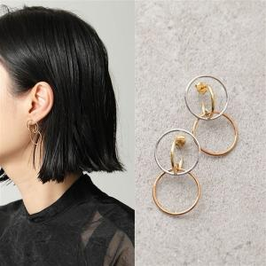 Charlotte Chesnais シャルロットシェネ ピアス レディース 15BO021VEAR VJ.VR&ARGENT Galilea Earrings S 18Kゴールドメッキ シルバー925 アクセサリー|s-musee