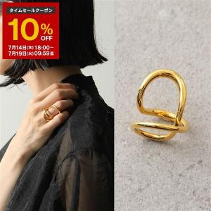 Charlotte Chesnais シャルロットシェネ リング レディース 20BA033VER VERMEIL Ribbon Ring シルバー925 18Kゴールドメッキ 指輪|s-musee