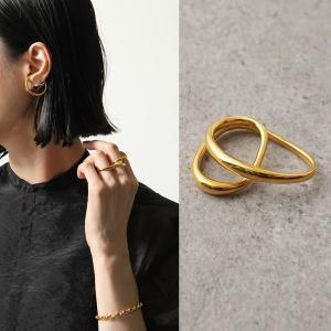 Charlotte Chesnais シャルロットシェネ リング レディース 15BA002VER VERMEIL Heart ring 18Kゴールドメッキ 指輪|s-musee