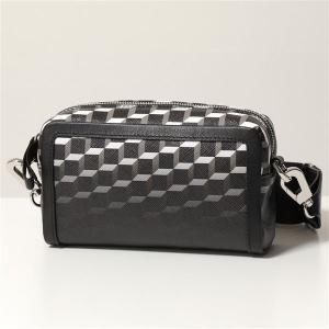 PIERRE HARDY ピエールアルディ ショルダーバッグ レディース SV05 DEGRADE-BLACK-BLACK CUBE BOX CAMERA BAG カメラ バッグ PVC×レザー ポシェット 鞄|s-musee