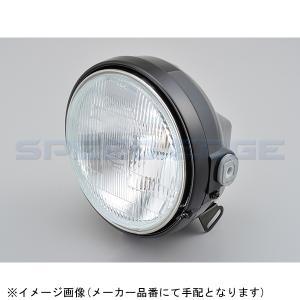 【メーカー品番:22714】 DAYTONA(デイトナ)  ヘッドライト 本体ブラック/リム ブラック|s-need