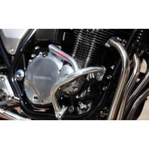 GM(ゴールドメダル) スラッシュガード CB400SF(NC31) ブラック サブフレーム無し【SGH01-5】|s-need