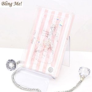 Bling Me!×Disney コラボ キラキラ  スマホケースBelle/ベルiPhone Case 7.8用(6.6S可) 返品不可 5のつく日 +4%|s-prologue