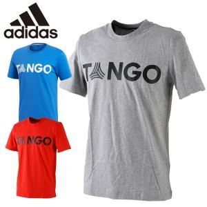 アディダス adidas タンゴ ストリート TANGO STREET ワードグラフィック Tシャツ 半袖 メンズ FVW92 サッカー フットサル フットボール|s-puresuto