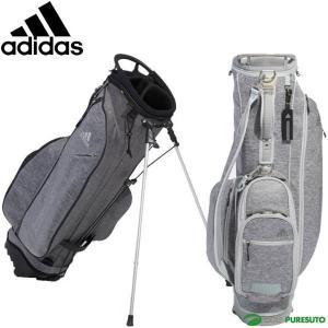 アディダスゴルフ 9.5型 キャディバッグ コーティングヘザー スタンドバッグ XA234|s-puresuto
