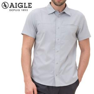 エーグル AIGLE ボタンダウン ドットシャツ ZCH017J 撥水加工 s-puresuto
