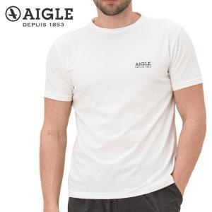 エーグル AIGLE フレックス Tシャツ 半袖 メンズ ZTH016J 吸水速乾 UVカット|s-puresuto