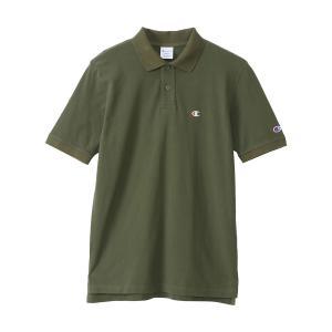 チャンピオン ポロシャツ ベーシック メンズ C3-F356-655|s-puresuto