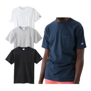 チャンピオン ショートスリーブ Tシャツ ベーシック メンズ C3-M349|s-puresuto