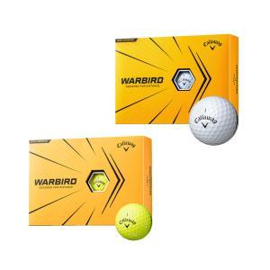 キャロウェイ ゴルフボール ウォーバード 2ダースセット 24球入 2021年モデル|s-puresuto