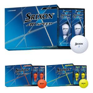 ダンロップ スリクソン AD SPEED スピード ゴルフボール 1ダース|s-puresuto