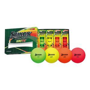 ダンロップ スリクソン TRI-STAR BRITE ゴルフボール 1ダース マットカラー|s-puresuto