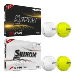 US仕様 ダンロップ スリクソン ゴルフボール Z-STAR/Z-STAR XV 1ダース 2021年モデル|s-puresuto
