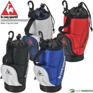 ルコック ゴルフ ペットボトルホルダー QQBNJX00 キャディバッグ型|s-puresuto