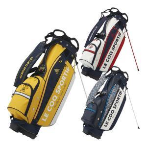 ルコック ゴルフ キャディバッグ 9.0型 スタンド式 ユニセックス QQBQJJ02|s-puresuto