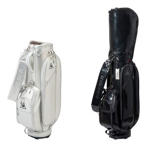 レディース ルコック ゴルフ キャディバッグ 8.5型 エナメル QQCQJJ01|s-puresuto