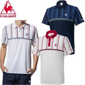 ルコック スポルティフ le coq sportif Tシャツ 半袖 メンズ QTMNJA43 トレーニング テニス|s-puresuto