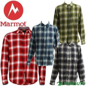 Marmot マーモット フェアファックスフランネル 長袖シャツ メンズ M7S-F5376|s-puresuto