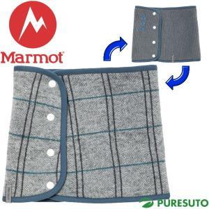 Marmot マーモット リバーシブルネックゲーター SLV ネックウォーマー MJA-F7596W|s-puresuto