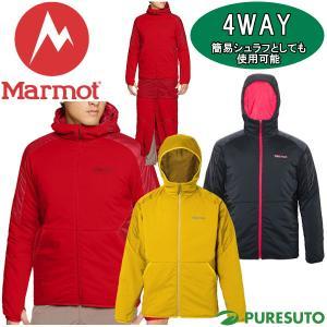 Marmot マーモット 4WAY リマーカブルパーカー メンズ MJM-F7001F ジャケット ベスト シュラフ|s-puresuto