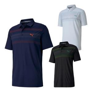 プーマゴルフ 半袖 ポロシャツ ゴルフロードマップ メンズ 599077|s-puresuto