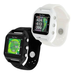 ショットナビ HuG Beyond ハグ ビヨンド 飛距離測定器 ゴルフナビ 腕時計型|s-puresuto