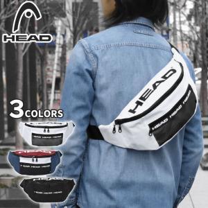 ■ HEAD(ヘッド)のポリキャンバス素材のボディバッグです。 ■ 長財布やペットボトル、その他小物...